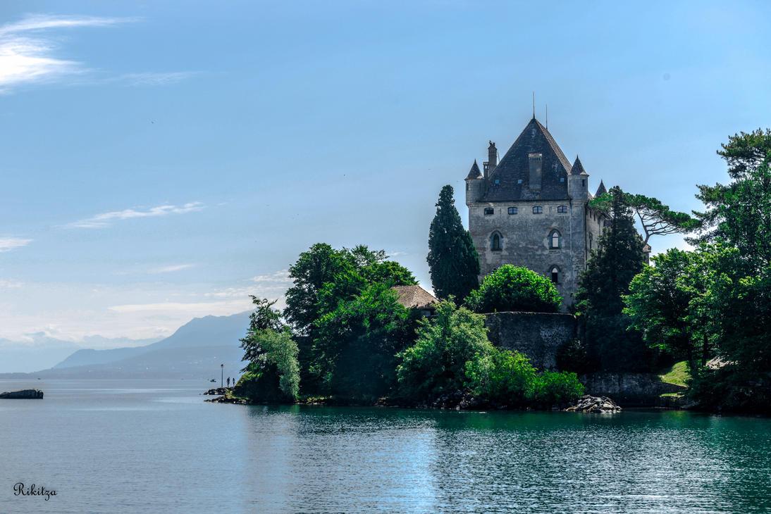 Le chateau by Rikitza