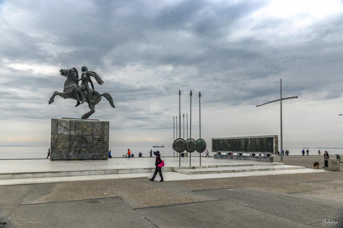 Alexander the GREAT in Thessaloniki by Rikitza