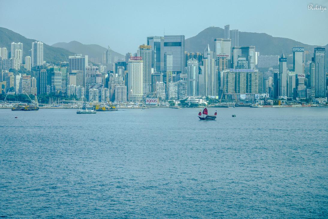 Blue Hong Kong by Rikitza