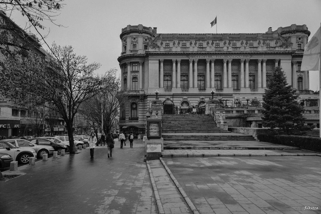 Bucharest after rain by Rikitza