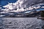 Threatening sky at Ioannina