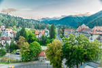 from my hotel room in Sinaia