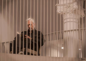 Caged Reader by Rikitza