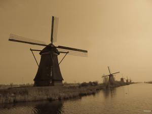 Homage to Turner windmills by Rikitza