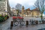 Old City Bike Parking Lot