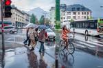 It rains in Innsbruck
