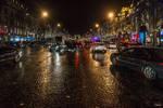Night Near The Arc De Triomphe