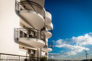 Architecture under sunny sky by Rikitza
