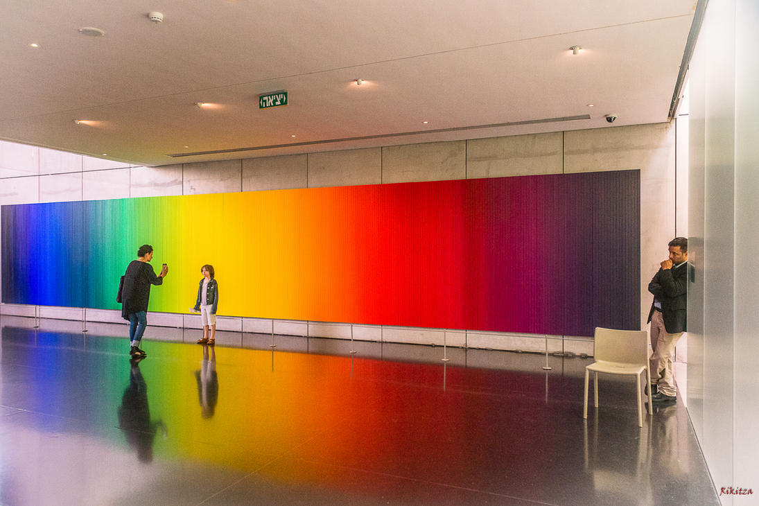 Colors in the museum by Rikitza