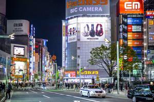 Lights in Tokyo's night by Rikitza
