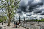 London - photo painting