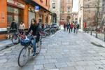 Bologna beauty on bike