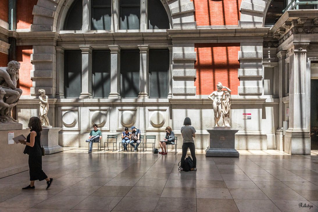 at the Met by Rikitza
