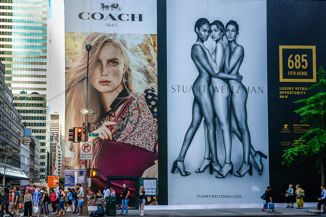 685 Fifth Ave advertising by Rikitza
