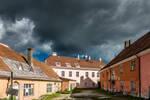 Tallinn under dramatic sky