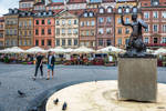 Warsaw - old town heart