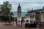 umbrellas in Vilnius