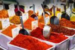 orient colors in HaCarmel market