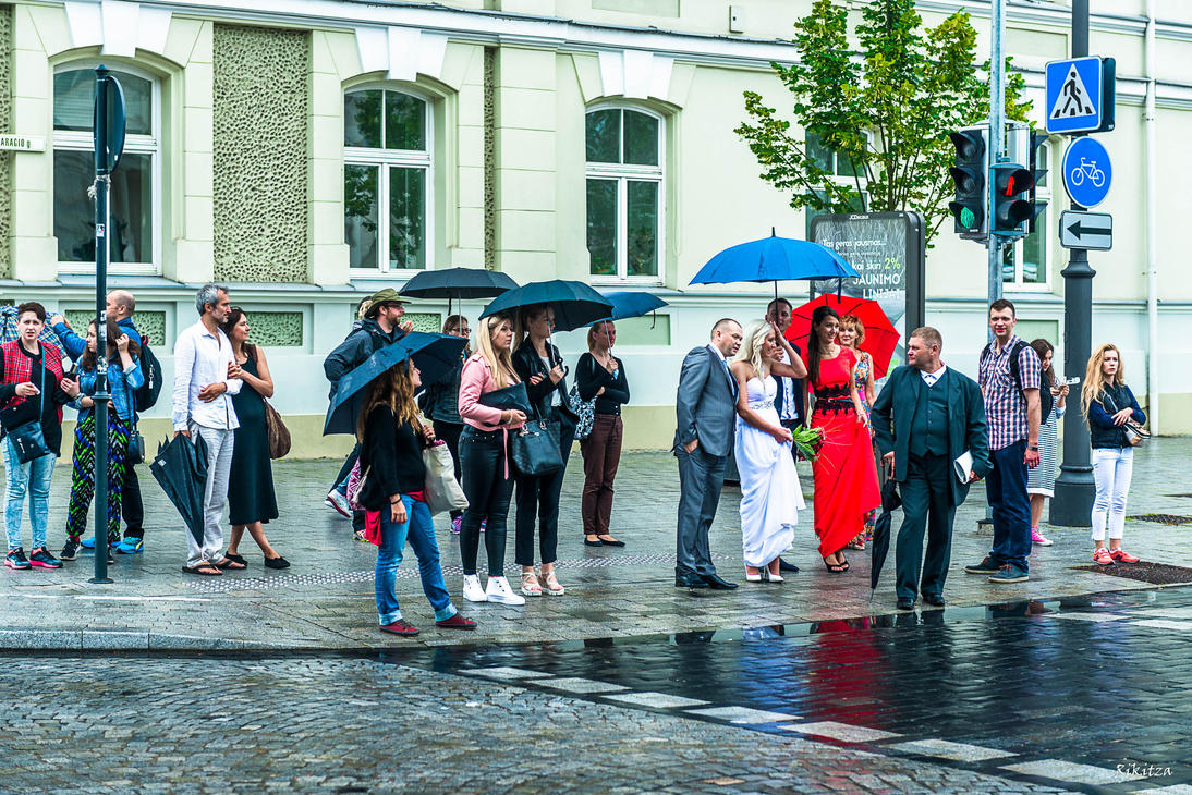 Elegance - Vilnius by Rikitza