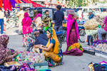 Incredible India - market day in Udaipur