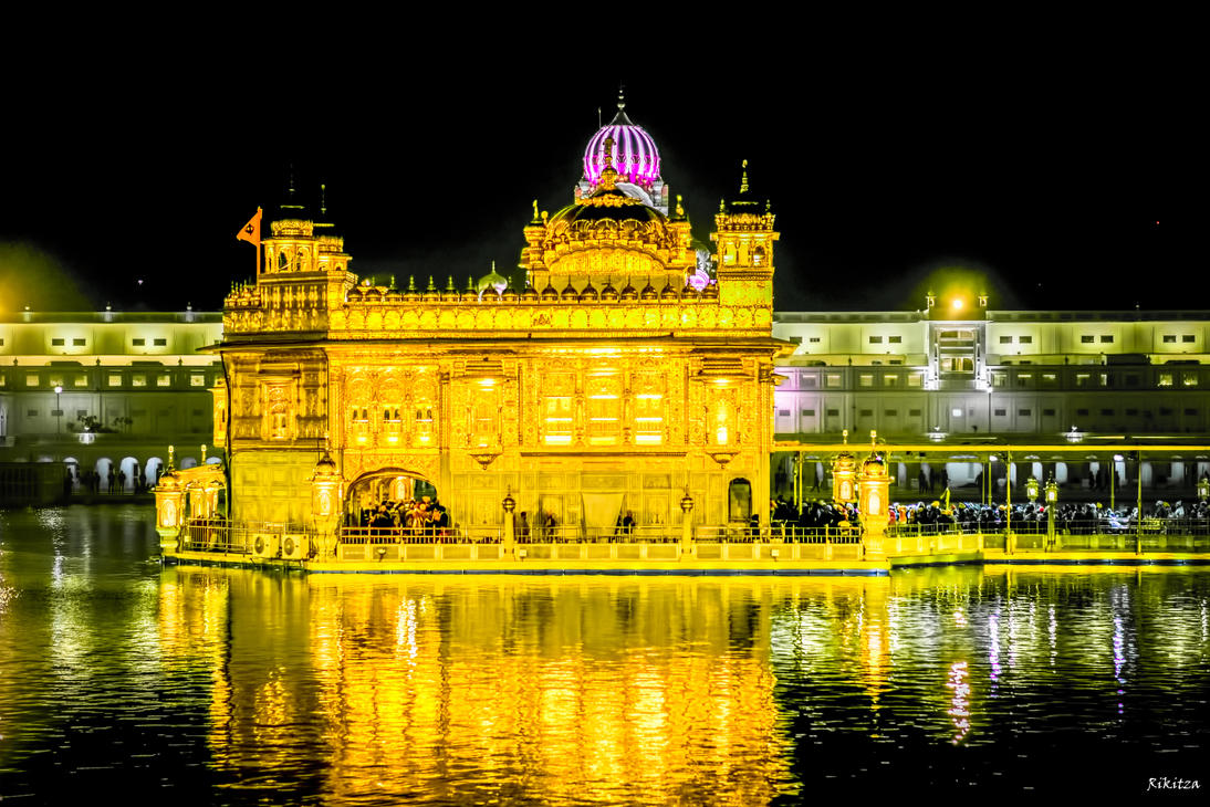 Incredible India - the golden temple in Amritsar by Rikitza