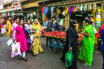 Incredible India - on a street at mid-day