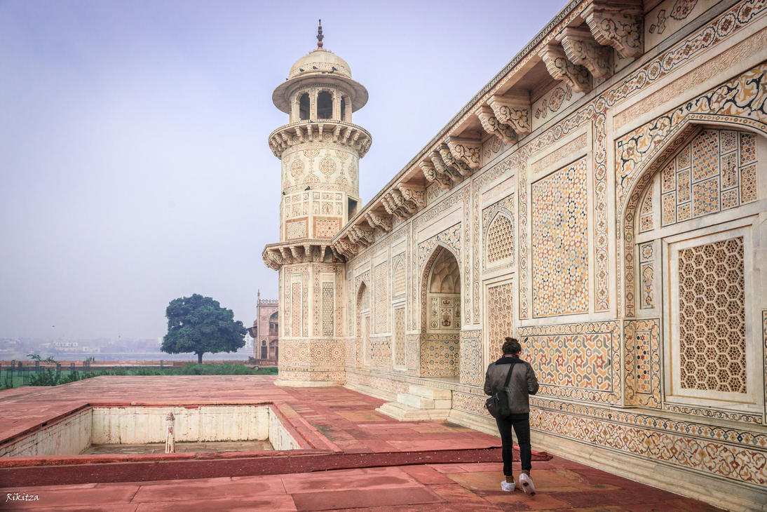 Incredible India - baby Taj in Agra by Rikitza