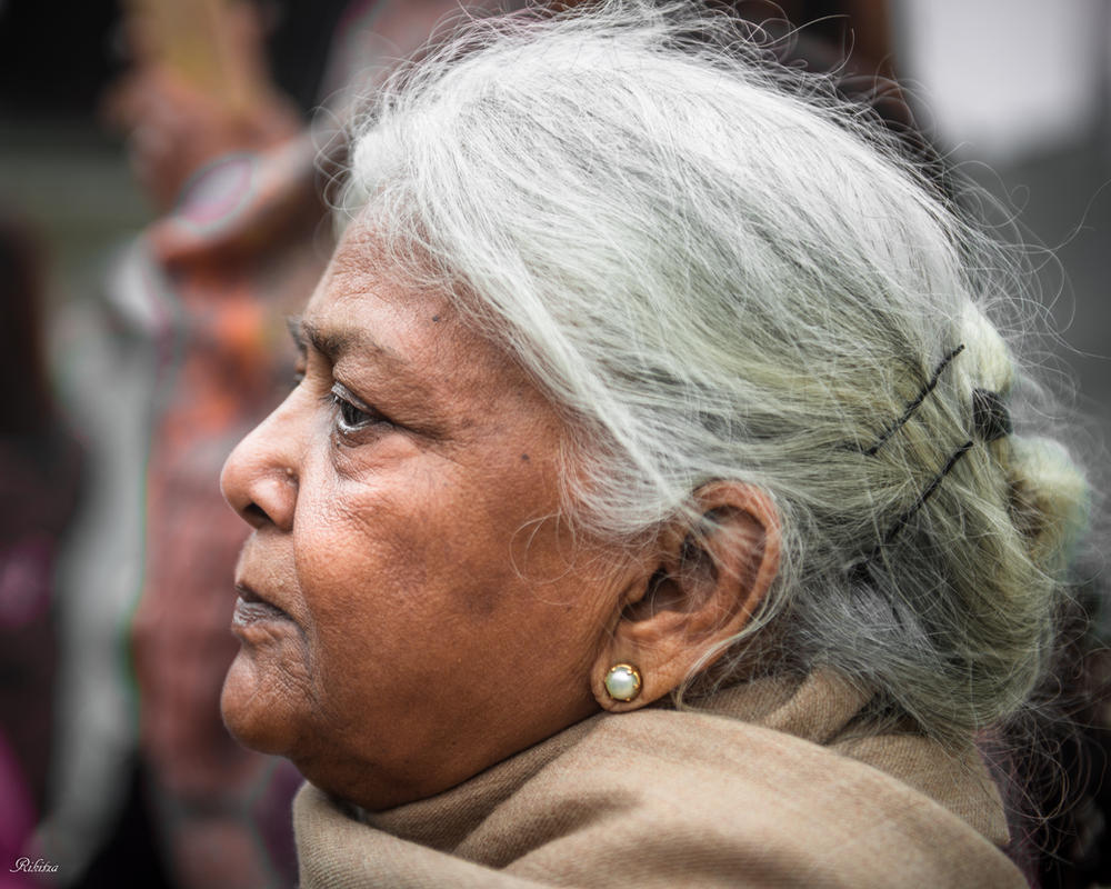 Incredible India - dignity and wisdom by Rikitza