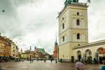 Warsaw after rain