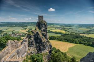 Czech paradise - castle in Bohemia