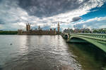 London once more - Westminster bridge by Rikitza