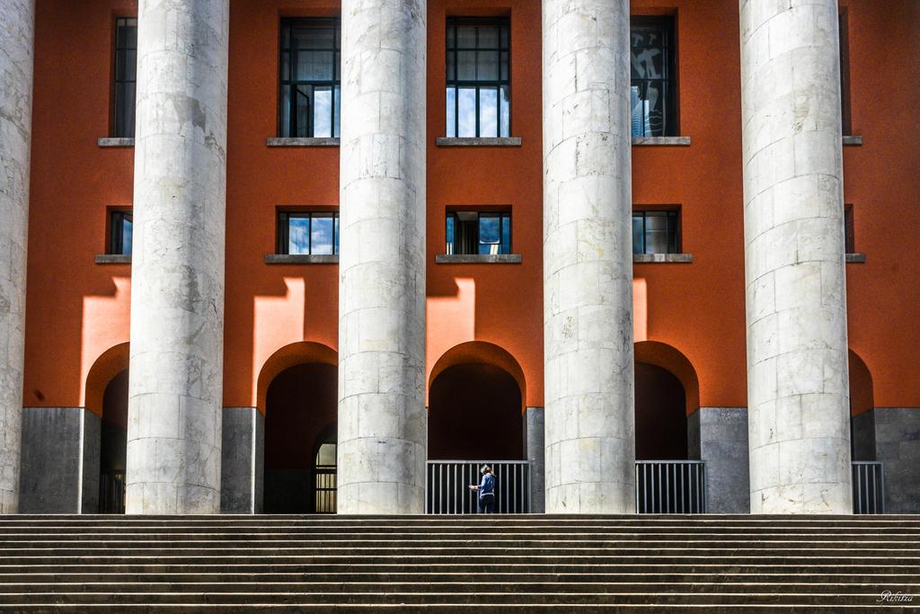 de Chirico vision in Palermo by Rikitza