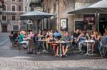 Innsbruck - lunch time by Rikitza
