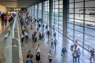 Ben Gurion airport - in and out by Rikitza