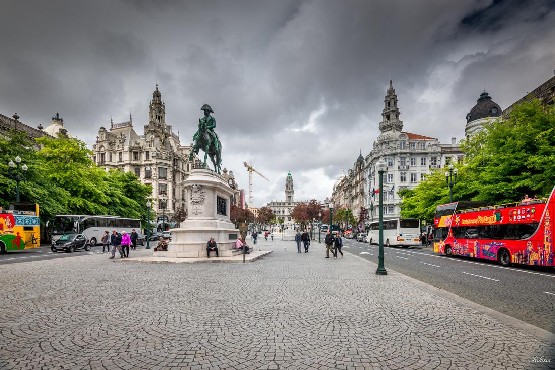 sweet Portugal - Porto and tourists by Rikitza