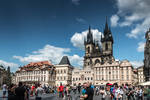Czech paradise - people, architecture and bird