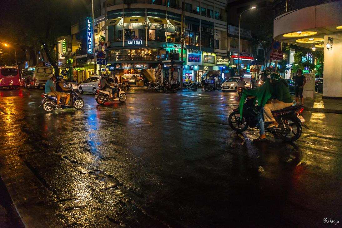 Good Morning Vietnam Urban Dictionary : Good morning vietnam motorbikes in the night by rikitza
