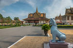 Khmer imperium - at the royal palace in Phnom Penh