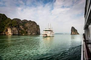 Good morning Vietnam - the boat in Ha Long by Rikitza