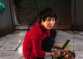 good morning Vietnam - kitchen worker by Rikitza