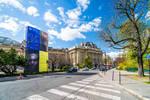 Paris the city of lights -Kupka under Parisian sky