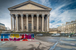 Paris the city of lights - Madeleine and colors by Rikitza