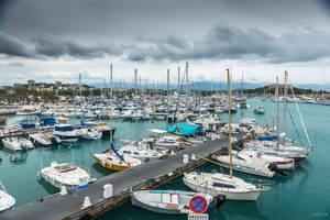 Sweet Cote d'Azur - marina in Antibes by Rikitza