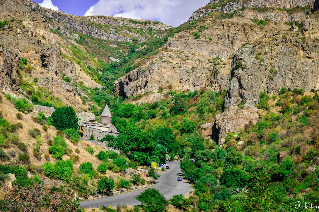 landscape in Armenia by Rikitza