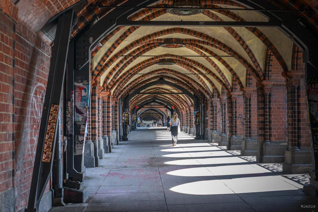 mein Berlin - on the bridge by Rikitza