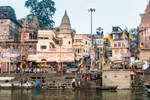 Incredible India - morning at the ghat