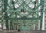 the metal bridge