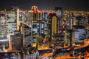 land of rising sun - Osaka night once more by Rikitza
