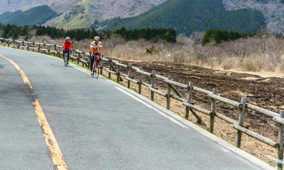 land of rising sun - two bikers by Rikitza
