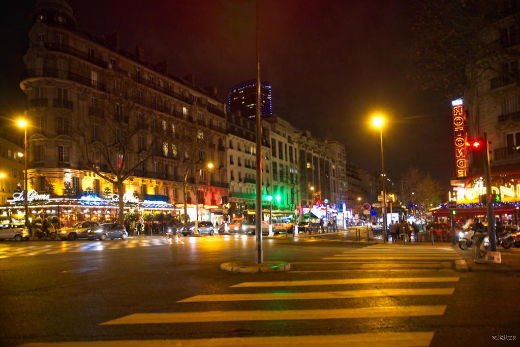 Paris the city of lights - my beloved corner by Rikitza